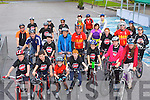 Cyclists  who participated in the Donal Walsh Live Life cycle in Killarney on Saturday morning