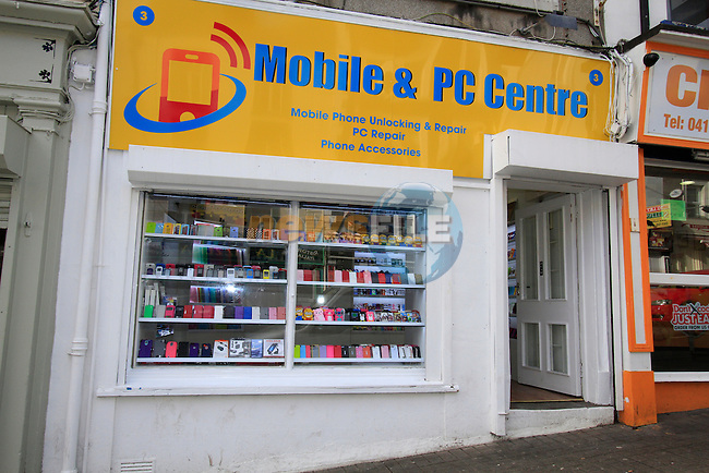 Photo's of Mobile &amp; PC Centre in Peter Street on Friday 21st February 2014.<br /> Picture:  Thos Caffrey / www.newsfile.ie