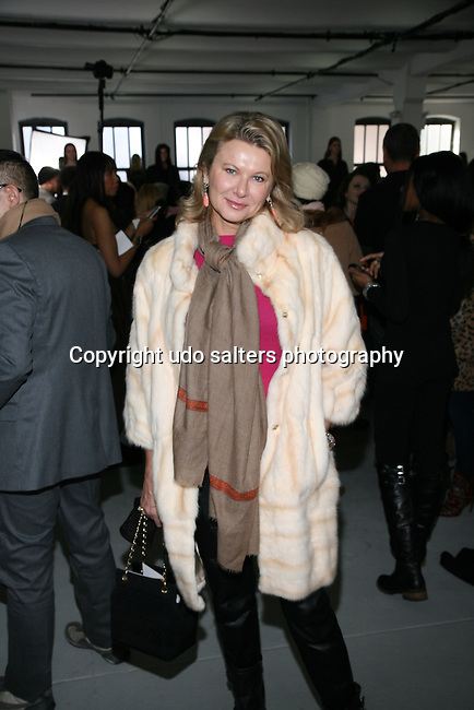Lady Liliana Cavendish Attends Mercedes-Benz New York Fashion Week Autumn/Winter 2013 - Catherine Malandrino Presentation Held at Center 548, NY 2/10/13