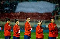 Futbol 2018 Amistoso Femenino Chile vs Costa Rica