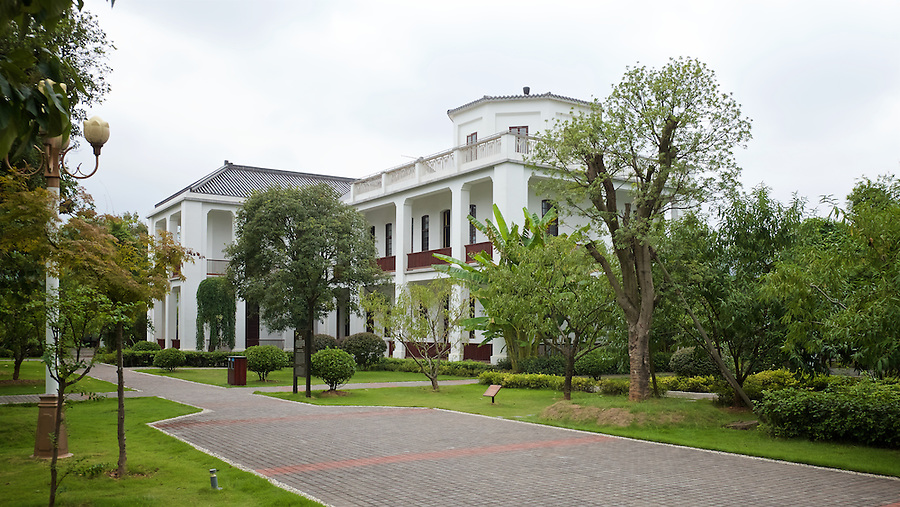 "Now The ""Celebrities Club"" On Juzhou Island, But Formerly The Changsha Club Before Being Used As A Residence By Nationalist General Tang Shengzhi In The 1930's."