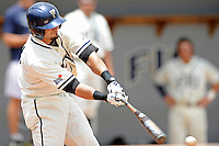 2 May 2010:  FIU's Yoandy Barroso (38) bats as the University of Louisiana-Monroe Warhawks defeated the FIU Golden Panthers, 8-7 in 11 innings, at University Park Stadium in Miami, Florida.