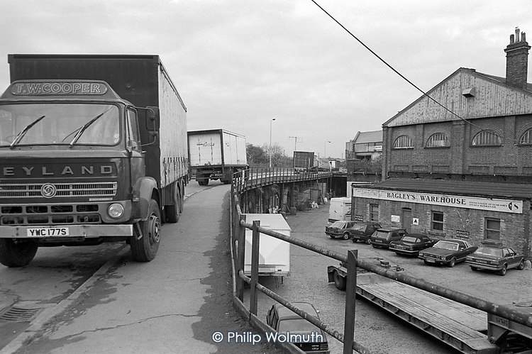 Bagley's Warehouse, Kings Cross, London 1989