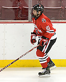 Chad Costello (Northeastern - 10) - The Boston College Eagles defeated the visiting Northeastern University Huskies 7-1 on Friday, March 9, 2007, to win their Hockey East quarterfinals matchup in two games at Conte Forum in Chestnut Hill, Massachusetts.