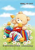 Roger, EASTER, OSTERN, PASCUA,bear, paintings+++++,GBRM16-1247,#e#