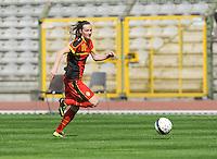 Belgium U19 - Ukraine U19 : <br /> <br /> Belgium U19 : Elke Van Gorp<br /> <br /> foto Dirk Vuylsteke / Nikonpro.be