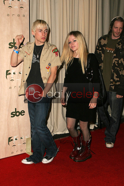 Deryck Whibley and Avril Lavigne<br />