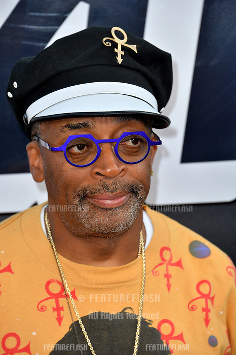 """Spike Lee at the Los Angeles premiere of """"BlacKkKlansman"""" at the Academy's Samuel Goldwyn Theatre, Beverly Hills, USA 08 Aug. 2018<br /> Picture: Paul Smith/Featureflash/SilverHub 0208 004 5359 sales@silverhubmedia.com"""