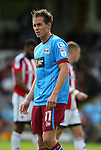 Josh Morris of Scunthorpe Utd during the English League One match at Glanford Park Stadium, Scunthorpe. Picture date: September 24th, 2016. Pic Simon Bellis/Sportimage