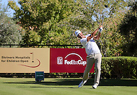 15 OCT 24 Vegas local Scott Piercy during Saturday's Third Round of The Shriners Hospitals for Children Open at The TPC Summerlin in Las Vegas, Nevada.(photo credit : kenneth e. dennis/kendennisphoto.com)