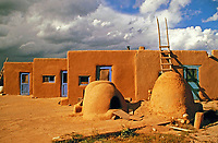 Pueblos are modern and old communities of Native Americans in the Southwestern United States.
