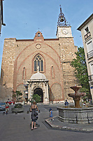Cathedral Saint Jean. Perpignan, Roussillon, France.