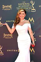 PASADENA - APR 30: Jackeline Cacho at the 44th Daytime Emmy Awards at the Pasadena Civic Center on April 30, 2017 in Pasadena, California