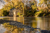 Archibald Mill on the Cannon River.<br />