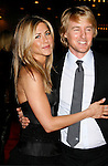 "WESTWOOD, CA. - December 11: Actress Jennifer Aniston and Actor Owen Wilson arrive at the Los Angeles premiere of ""Marley & Me"" on December 11, 2008 in Los Angeles, California."