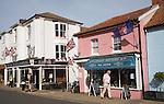 Cragg Sisters tea room, Aldeburgh, Suffolk, England