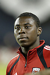 6 November 2004: Freddy Adu. DC United defeated the New England Revolution 4-3 on penalties after the game ended in a 3-3 tie at RFK Stadium in Washington, DC in the Major League Soccer Eastern Conference Championship Match. .