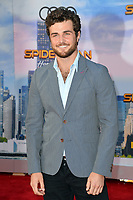 Beau Mirchoff at the world premiere for &quot;Spider-Man: Homecoming&quot; at the TCL Chinese Theatre, Los Angeles, USA 28 June  2017<br /> Picture: Paul Smith/Featureflash/SilverHub 0208 004 5359 sales@silverhubmedia.com