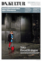 Dagens Nyheter (main Swedisch daily):<br /> Far right takes over the New Theatre (Uj Szinhaz)<br /> Budapest, Hungary, 01.2012 Pictures: Martin Fejer