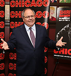 Ambassador Dani Dayan, Consul General of Israel in New York attends a photo call for her Broadway debut as Roxie Hart in 'Chicago' on September 7, 2018 at Sardi's in New York City.
