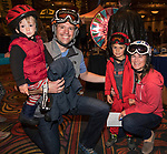 "The Woida family attend the screening of Warren Miller's film ""Line of Descent"" at the Reno Ballroom on Saturday, Nov. 4, 2017 in downtown Reno."