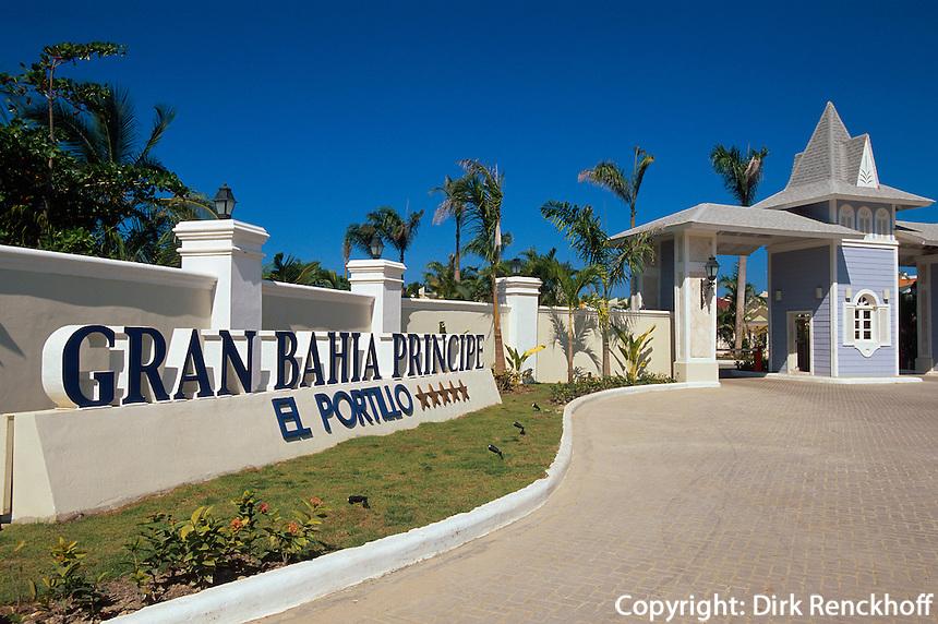 Dominikanische Republik, Hotel Gran Bahia Principe in El Portillo auf der Samana-Halbinsel