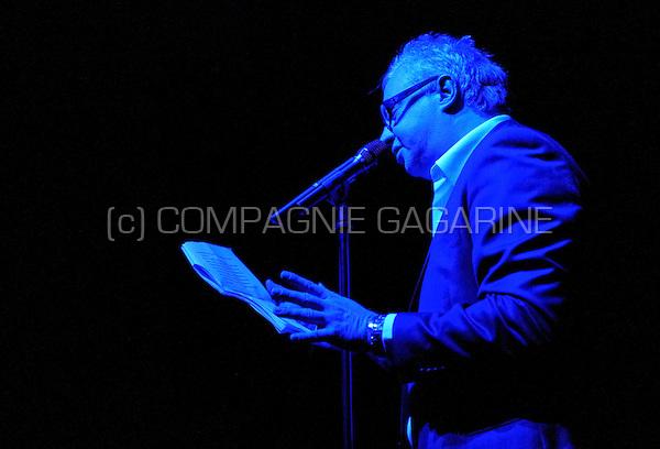 Stijn Meuris presenting the De Nachten festival in Antwerp (Belgium, 07/11/2008)
