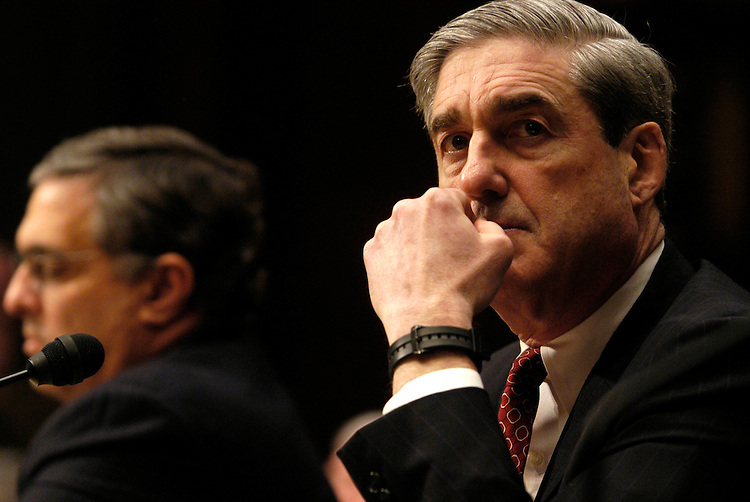 FBI Director Robert S. Mueller testified this morning before the Select Committee on Intelligence on worldwide threats.