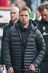 15.04.2018, Weser Stadion, Bremen, GER, 1.FBL, Werder Bremen vs RB Leibzig, im Bild<br /> <br /> Florian Kohfeldt (Trainer SV Werder Bremen)<br /> <br /> <br /> Foto &copy; nordphoto / Kokenge