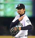 Hisashi Iwakuma (Mariners),.MAY 26, 2013 - MLB :.Pitcher Hisashi Iwakuma of the Seattle Mariners during the baseball game against the Texas Rangers at Safeco Field in Seattle, Washington, United States. (Photo by AFLO)