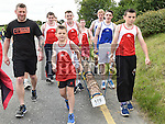 Members of Ardee Boxing Club. who took part in the Seamie Weldon 5K Run in Ardee. Photo:Colin Bell/pressphotos.ie