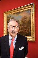 Switzerland. Geneva. Pierre G. Mirabaud (1948), Senior Partner, Mirabaud & Cie, Geneva. Pierre Mirabaud was the  Chairman of the Swiss Bankers Association (SBA) from september 2003 until june 2009. 26.02.2009  © 2009 Didier Ruef