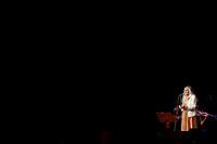 """São Paulo (SP), 30/10/2019 - Show - O maestro João Carlos Martins e a cantora Maria Bethânia se apresentaram na noite desta quarta-feira (30), no Espaço das Américas, zona oeste da capital. O espetáculo """"João Carlos Martins e Maria Bethânia In Concert - de Beethoven a Bethânia""""  marca o primeiro encontro dos dois músicos."""