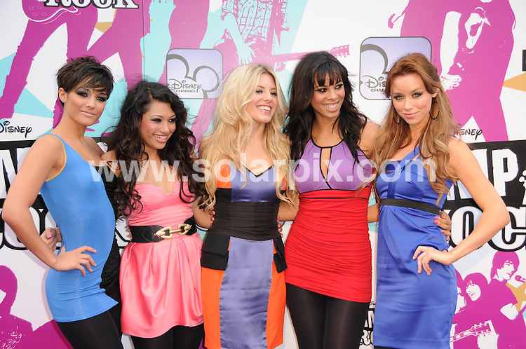 **ALL ROUND PICTURES FROM SOLARPIX.COM**.**WORLDWIDE SYNDICATION RIGHTS**.The Camp Rock premiere at the Royal festival hall in London..This pic:The Saturdays ..JOB REF:7283-MSR    DATE:10_09_08 .**MUST CREDIT SOLARPIX.COM OR DOUBLE FEE WILL BE CHARGED* *UNDER NO CIRCUMSTANCES IS THIS IMAGE TO BE REPRODUCED FOR ANY ONLINE EDITION WITHOUT PRIOR PERMISSION*