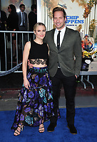 Kristen Bell &amp; Ryan Hansen at the premiere for &quot;CHiPS&quot; at the TCL Chinese Theatre, Hollywood. Los Angeles, USA 20 March  2017<br /> Picture: Paul Smith/Featureflash/SilverHub 0208 004 5359 sales@silverhubmedia.com