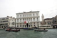 Veduta di Palazzo Grassi dal Canal Grande, a Venezia.<br /> View of Palazzo Grassi from the Grand Canal, in Venice.<br /> UPDATE IMAGES PRESS/Riccardo De Luca