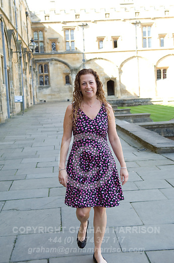 Jodi Picoult author of My Sister's Keeper at Christ Church during the Sunday Times Oxford Literary Festival, UK, 24 March - 1 April 2012. ..PHOTO COPYRIGHT GRAHAM HARRISON .Moral rights asserted.