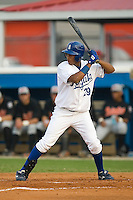 Diego Cruz (29) of the Burlington Royals at bat at Burlington Athletic Park in Burlington, NC, Saturday, July 26, 2008. (Photo by Brian Westerholt / Four Seam Images)