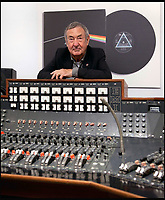 BNPS.co.uk (01202 558833)<br /> Pic: Bonhams/BNPS<br /> <br /> Pink Floyd drummer Nick Mason with the console.<br /> <br /> A recording console used to produce Pink Floyd's iconic Dark Side of the Moon album has sold for a staggering &pound;1,434,231.<br /> <br /> Between 1971 and 1983, the 1971 EMI TG12345 MK IV console was housed in Studio 2 at the famous Abbey Road studios.<br /> <br /> After a sterling 12 year run during which it was used by three of the Beatles, Paul McCartney, George Harrison and Ringo Starr, as well as Kate Bush and The Cure, the console was replaced by a more advanced model. <br /> <br /> Since then, it has belonged to a producer Mike Hedges, who worked at Abbey Road at the time.