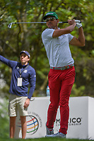 Rafael Cabrera Bello (ESP) watches his tee shot on 16 during round 3 of the World Golf Championships, Mexico, Club De Golf Chapultepec, Mexico City, Mexico. 2/23/2019.<br /> Picture: Golffile | Ken Murray<br /> <br /> <br /> All photo usage must carry mandatory copyright credit (© Golffile | Ken Murray)