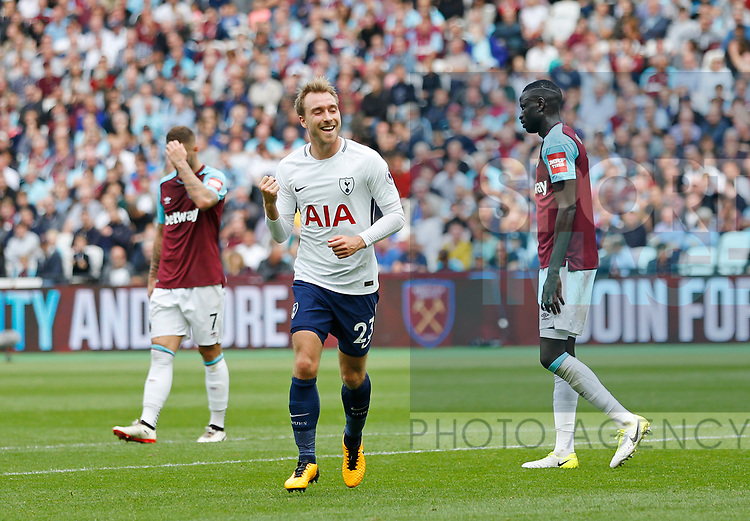 West Ham's Tottenham's during the premier league match at the London Stadium, London. Picture date 23rd September 2017. Picture credit should read: David Klein/Sportimage