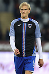 Morten Thorsby of Sampdoria during the Serie A match at Stadio Grande Torino, Turin. Picture date: 8th February 2020. Picture credit should read: Jonathan Moscrop/Sportimage