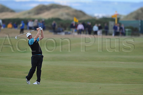 15/07/10 Peter Hanson (SWE) in action  on the Old Course , St  Andrews, Fife, Scotland in the first round of  British Open Championship