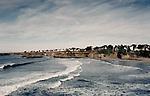 "Mendocino on the Pacific Coast of Northern California.  100 mg tango scan from 2 1/4"" film.. © John Birchard"