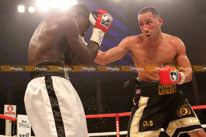 James Degale vs Fulgencio Zuniga in a boxing contest at the Bonus Arena, Hull promoted by Hennessy Sports - 08/12/11 - MANDATORY CREDIT: Chris Royle/TGSPHOTO - Self billing applies where appropriate - 0845 094 6026 - contact@tgsphoto.co.uk - NO UNPAID USE..