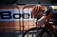 post-finish rest<br /> <br /> Flèche Wallonne Féminine 2015