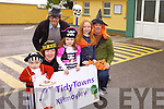 HALLOWEEN HOOLEY: Getting ready for the Halloween Hooley in aid of Tidy Towns Kilmoyley were Grainne Carroll, Mairéad Carroll, Diarmuid Carroll, Margaret Carroll, Mike Curran and Padraig Regan.
