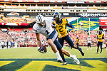 16FTB at West Virginia 2178<br /> <br /> 16FTB at West Virginia<br /> <br /> BYU Football vs West Virginia at FedEx Field in Landover, Maryland.<br /> <br /> BYU-32<br /> WVU-35<br /> <br /> September 24, 2016<br /> <br /> Photo by Jaren Wilkey/BYU<br /> <br /> &copy; BYU PHOTO 2016<br /> All Rights Reserved<br /> photo@byu.edu  (801)422-7322