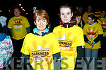 Noreen Quirke and Delia Quirke, Tralee, who took part in the Darkness Into Light walk, Tralee, on Saturday last.