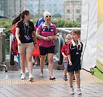 Spectators and Atmosphere - HSBC Hong Kong 7s 2016 During   HSBC Hong Kong Rugby Sevens 2016 on 10 April 2016 at Hong Kong Stadium in Hong Kong, China. Photo by Marcio Machado / Power Sport Images